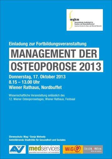 HP Osteoporose 2013 - Österreichische Gesellschaft für Knochen ...