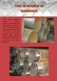 Scheda tecnica tubi in acciaio al carbonio - pancera tubi e filtri srl