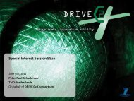 Cooperative Systems - DRIVE C2X