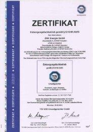 Zertifikat als PDF - ZAK
