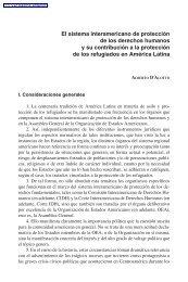 El sistema interamericano de protección de los derechos ... - Acnur
