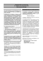 Amtsblatt Kultus und Unterricht Nr. 19/2010 vom 4 ... - Kultusportal