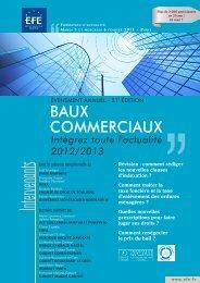 BAUX COMMERCIAUX - Efe