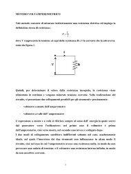 Metodo volt-amperometrico - Docente.unicas.it