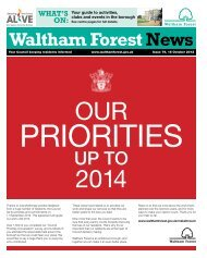 Issue 79: Pastors on patrol - Waltham Forest Council