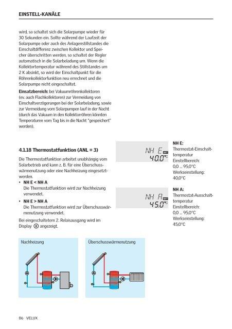 Brugsvejledning Directions for use Bedienungsanweisung ... - Velux