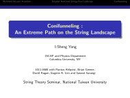 Conifunneling : An Extreme Path on the String Landscape