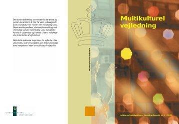 Multikulturel vejledning - Undervisningsministeriet