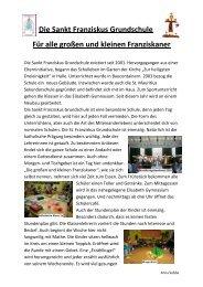 Die Sankt Franziskus Grundschule Für alle großen und kleinen ...