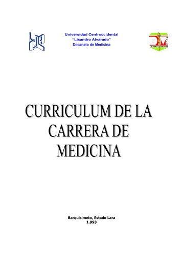 Decanato de Medicina Barquisimeto, Estado Lara 1.993