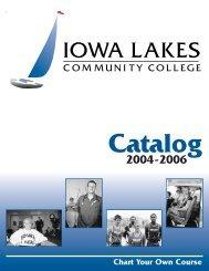 2004-2006 Catalog - Iowa Lakes Community College