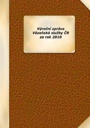 za rok 2010 - Vězeňská služba ČR