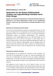 Spatenstich für den Neubau Raiffeisenbank Jungfrau und ...
