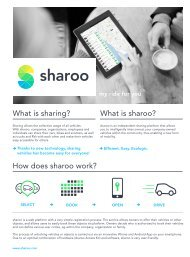 What is sharoo? How does sharoo work? What is sharing? - M Way