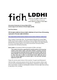 info document - FIDH