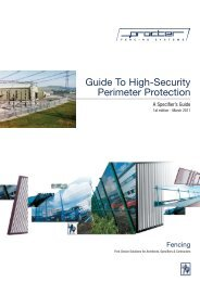 Specifier Guide: High-Security Perimeter Pro... - Barbour Product ...