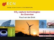 CO capture technologies: An Overview - CO2 - CATO
