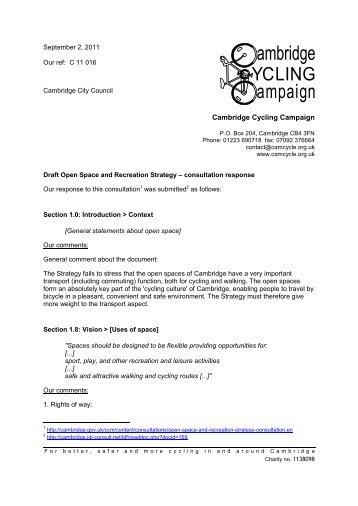 Cambridge Cycling Campaign »