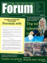 April, 2008. go di ne Broj 8 Go di na III - Forumbosnjaka.com