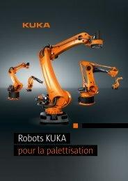 Robots KUKA pour la palettisation - KUKA Robotics