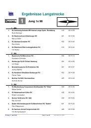 Ergebnisse Langstrecke - Karlsruher Rheinklub Alemannia eV