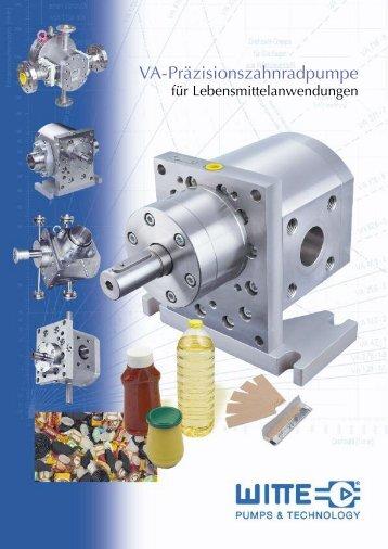 Witte Flyer CHEM - Pumpenagent