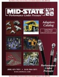 Adapters Catalog - MRO Stop