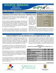 BOLETIN SEMANAL - Agronet