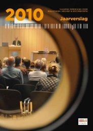 VVBAD-jaarverslag 2010