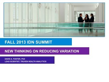 David Foster - IDN Summit and Expo