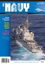 VOL 71 No2 - Navy League of Australia
