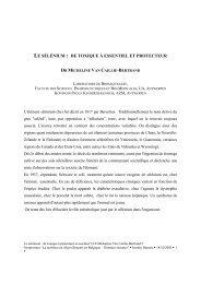 le sélénium : de toxique à essentiel et protecteur - Danone Institute