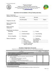 Application for Accreditation - DOH