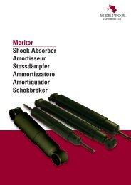 Meritor Shock Absorber Amortisseur Stossdämpfer Ammortizzatore ...