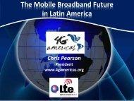Mobile Broadband - 4G Americas