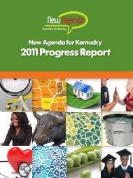 2011 Progress Report - Kentucky Chamber of Commerce