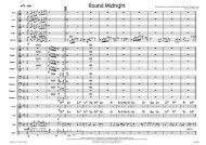 Round Midnight - published score sample ... - Lush Life Music