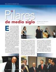 RECONOCIMIENTOS - Instituto Mexicano del Cemento y del Concreto