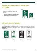 Welche sind die FSC -Warenzeichen? - Seite 7
