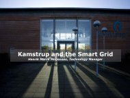 Kamstrup and the Smart Grid