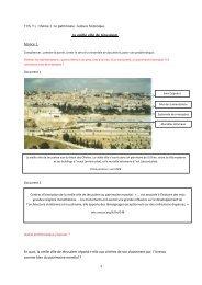La vieille ville de Jérusalem. - Histoire géographie Dijon