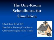 The History of a One-Room Schoolhouse for Simulation