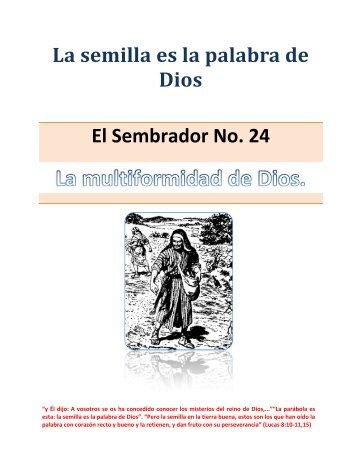 La Multiformidad de Dios - IGLESIA DE CRISTO - Ministerios ...