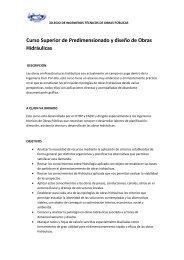 curso Obras hidraulicas septiembre.docx - Colegio de Ingenieros ...