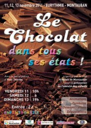 BROCHURE CHOCOLAT 2011_Mise en page 1 - Montauban.com