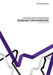 Konjunkturvurdering - december 2009 - Håndværksrådet