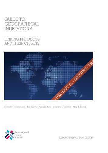 Guide to Geographical Indications: Linking ... - Standards Map