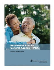 Retirement Plan for General Agencies (RPGA) - General Board of ...