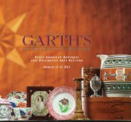 March 11-12, 2011 - Garth's Auctions, Inc.
