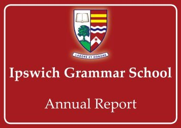 Cover Design 2011 V4.indd - Ipswich Grammar School